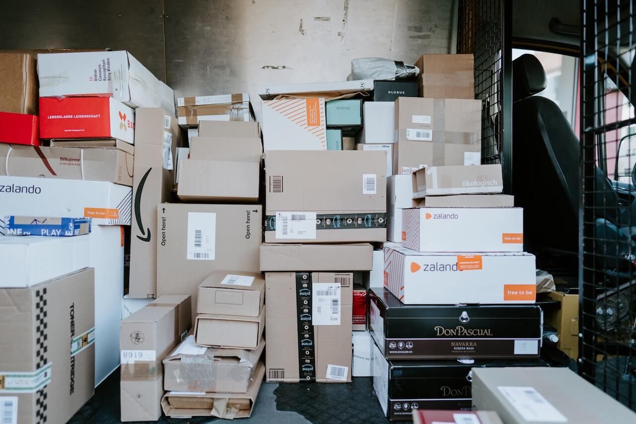 Packages delivered