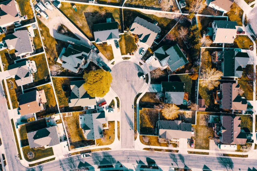 housing community overhead