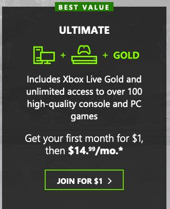 Xbox Ultimat