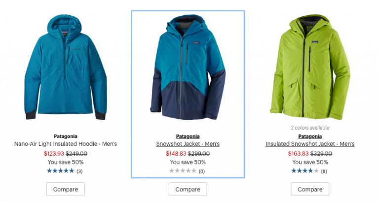 Patagonia deals