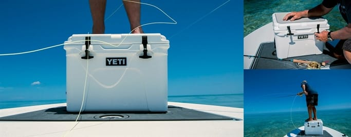 YETI Tundra on beach