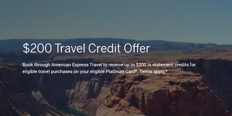 Amex Travel Credit