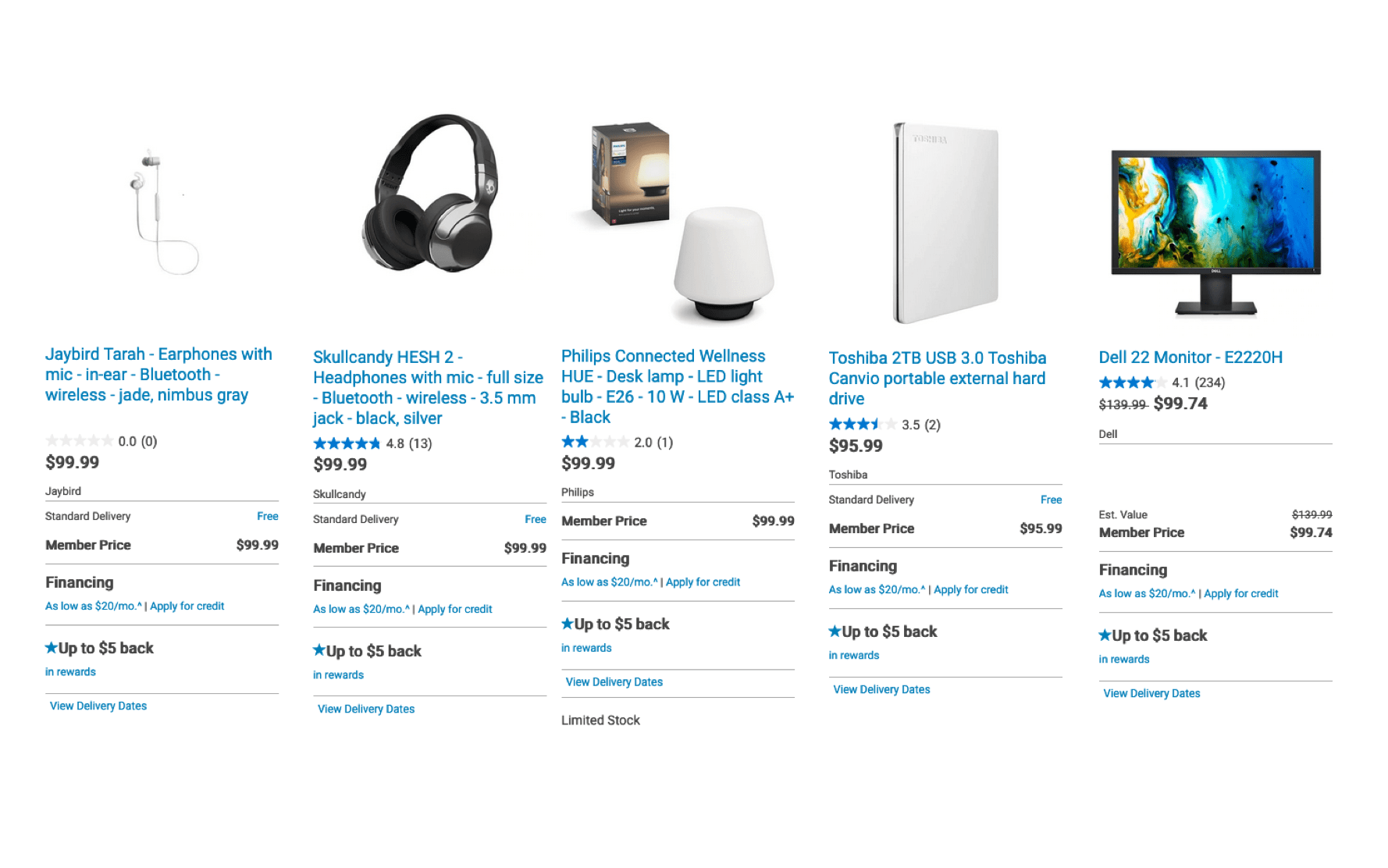 Dell $100 offers