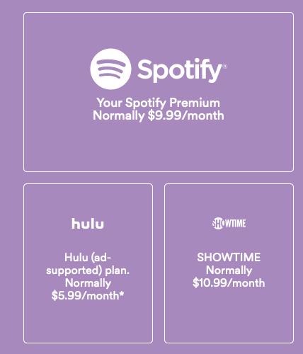 Spotify price breakdown
