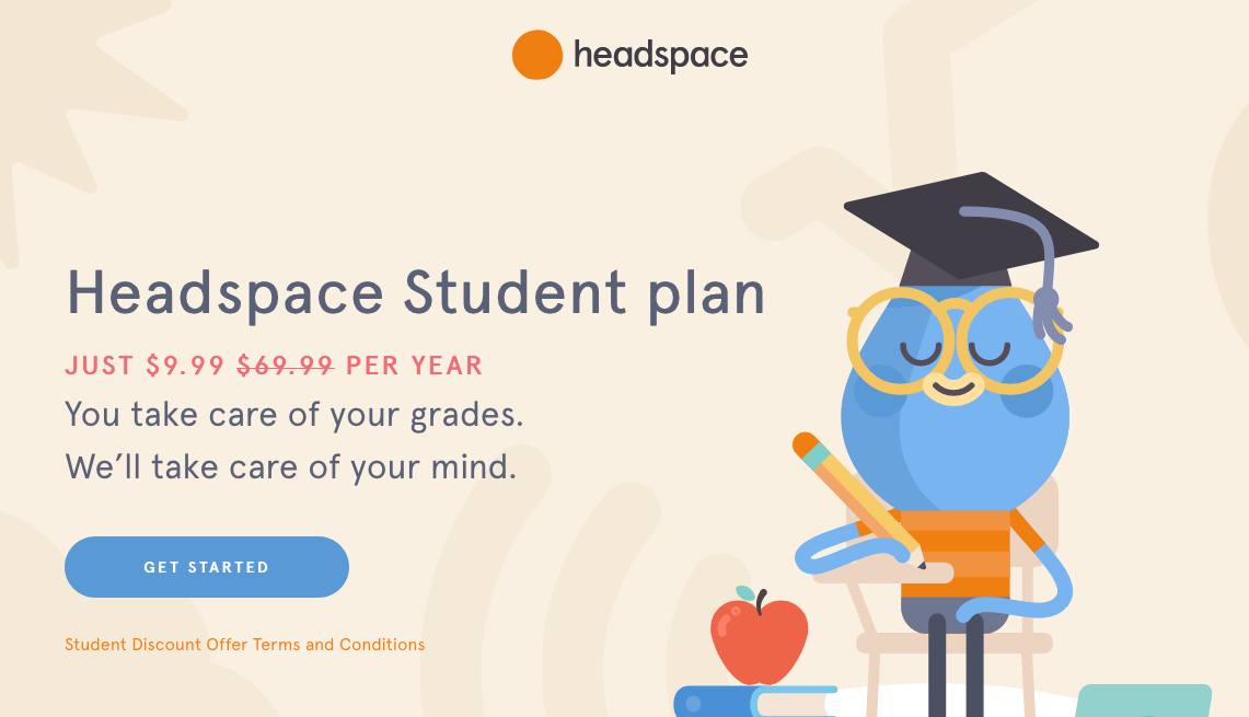 Headspace Student Discount