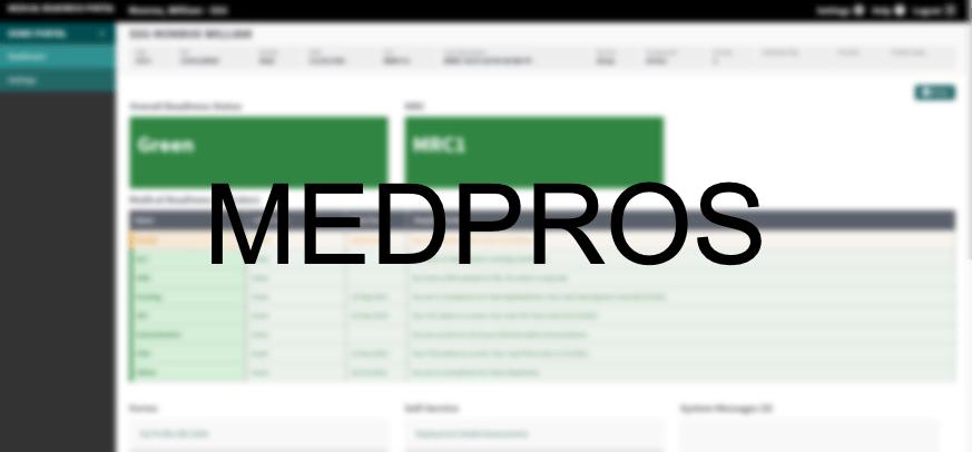 MEDPROS Portal