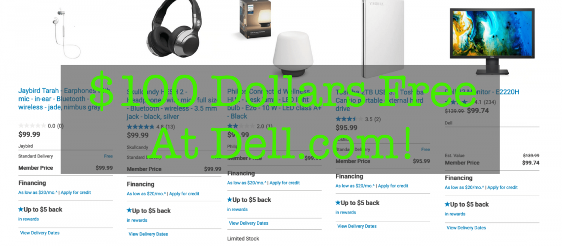 Dell $100 offers featured image