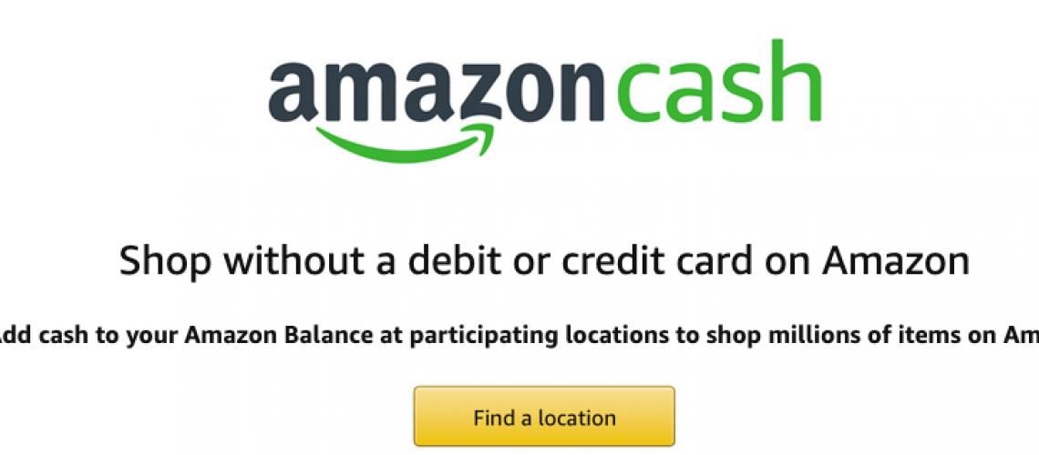 Amazon Cash Signup
