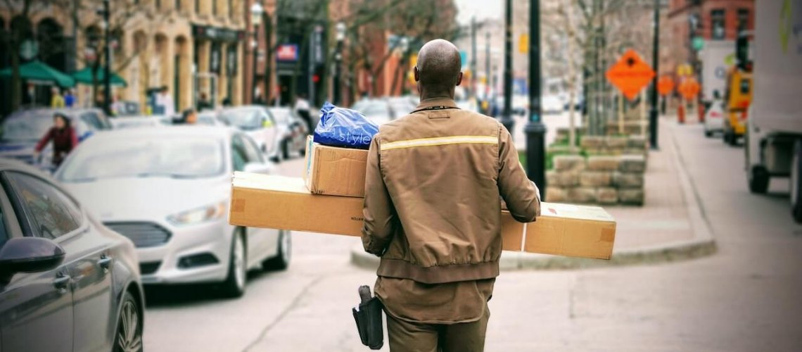 UPS Delivery Man