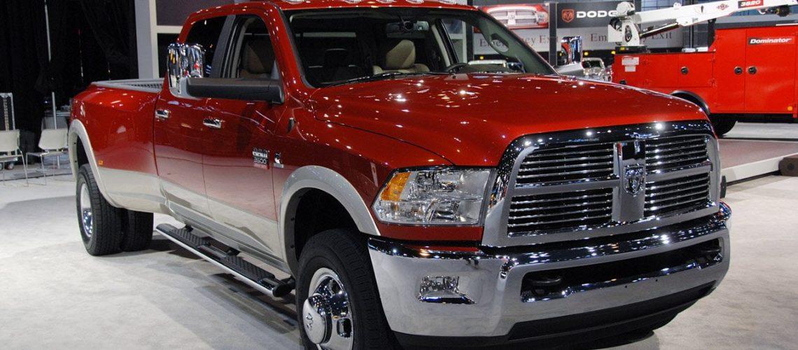 Dodge Ram Red