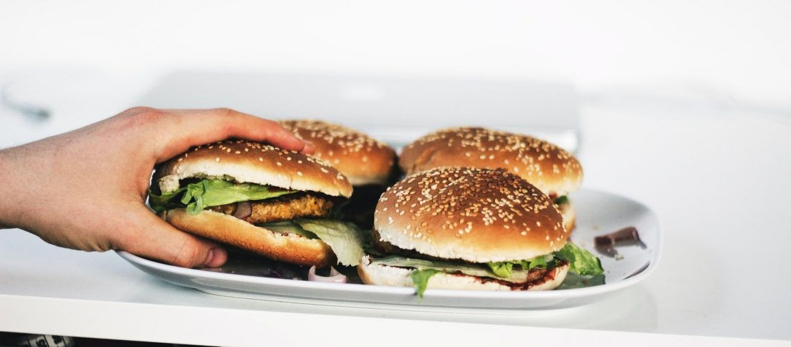 Uber Eats Chicken Sandwich